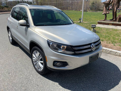 2013 Volkswagen Tiguan for sale at SODA MOTORS AUTO SALES LLC in Newport RI