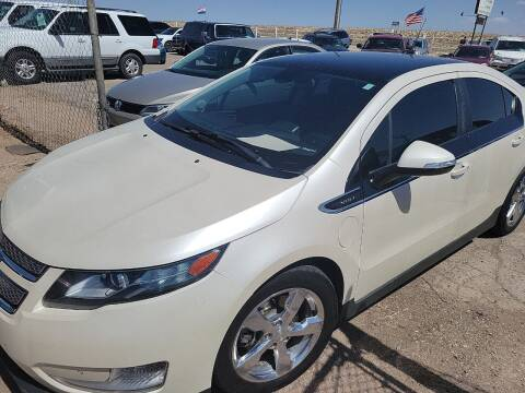 2012 Chevrolet Volt for sale at PYRAMID MOTORS - Fountain Lot in Fountain CO