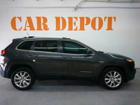 2014 Jeep Cherokee for sale at Car Depot in Miramar FL