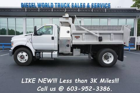 2019 Ford F-750 Super Duty for sale at Diesel World Truck Sales - Dump Truck in Plaistow NH