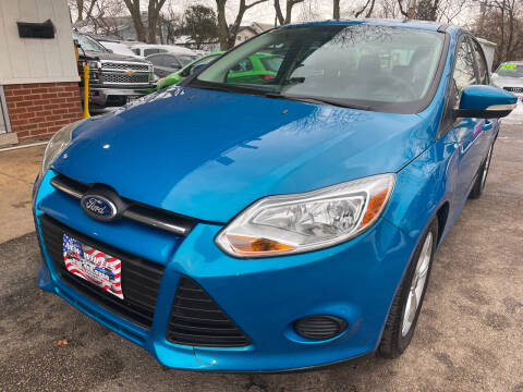 2013 Ford Focus for sale at New Wheels in Glendale Heights IL