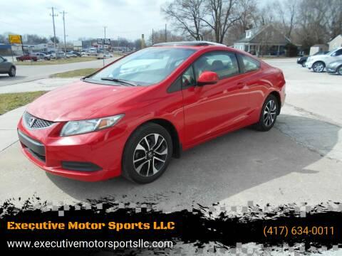 2013 Honda Civic for sale at Executive Motor Sports LLC in Sparta MO