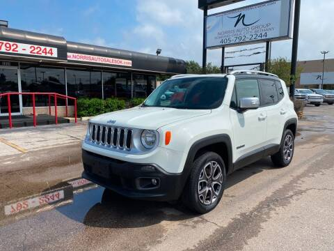 2016 Jeep Renegade for sale at NORRIS AUTO SALES in Oklahoma City OK