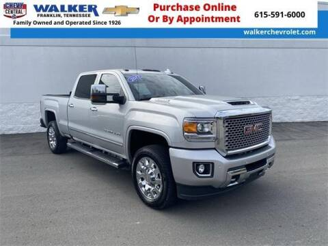 2017 GMC Sierra 2500HD for sale at WALKER CHEVROLET in Franklin TN