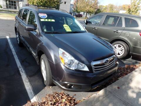 2011 Subaru Outback for sale at CAR CORNER RETAIL SALES in Manchester CT
