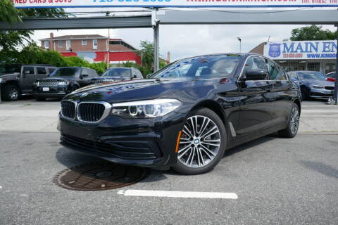 2019 BMW 5 Series for sale at MIKEY AUTO INC in Hollis NY