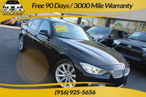 2013 BMW 3 Series for sale at West Coast Auto Sales Center in Sacramento CA