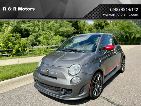 2013 FIAT 500 for sale at R & R Motors in Waterford MI