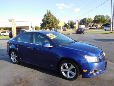 2013 Chevrolet Cruze for sale at North State Motors in Belvidere IL