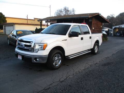 2014 Ford F-150 for sale at Manzanita Car Sales in Gridley CA