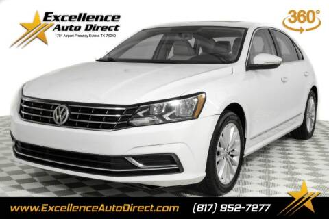 2017 Volkswagen Passat for sale at Excellence Auto Direct in Euless TX