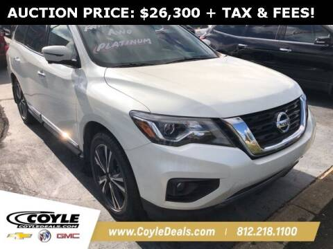 2018 Nissan Pathfinder for sale at COYLE GM - COYLE NISSAN in Clarksville IN