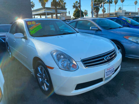 2006 Infiniti G35 for sale at North County Auto in Oceanside CA