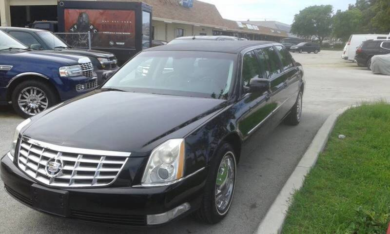 2009 Cadillac DTS Pro Sayers &Scovill for sale at LAND & SEA BROKERS INC in Deerfield FL
