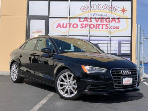2016 Audi A3 for sale at Las Vegas Auto Sports in Las Vegas NV