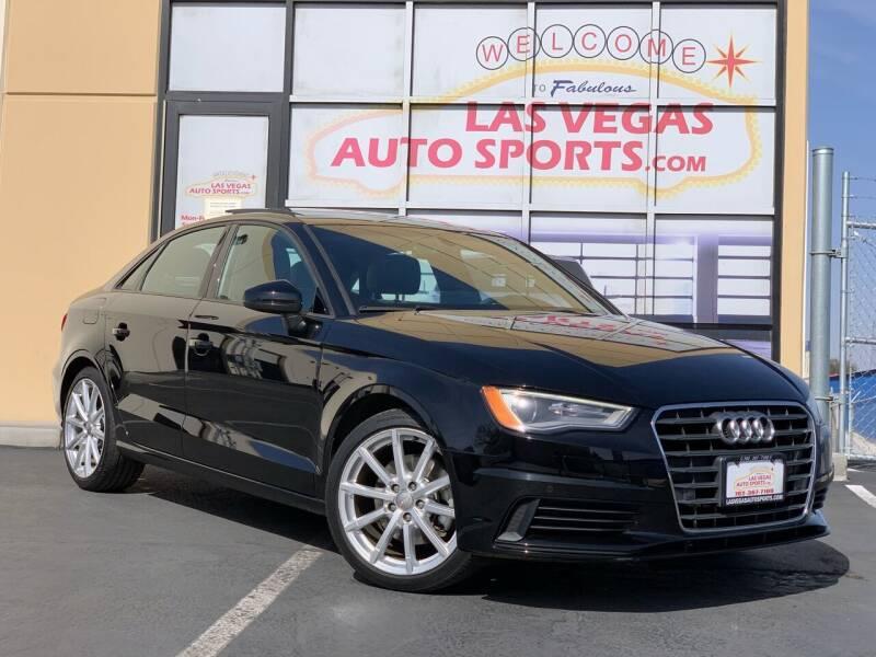 2016 Audi A3 for sale at Las Vegas Auto Sports in Las Vegas NV