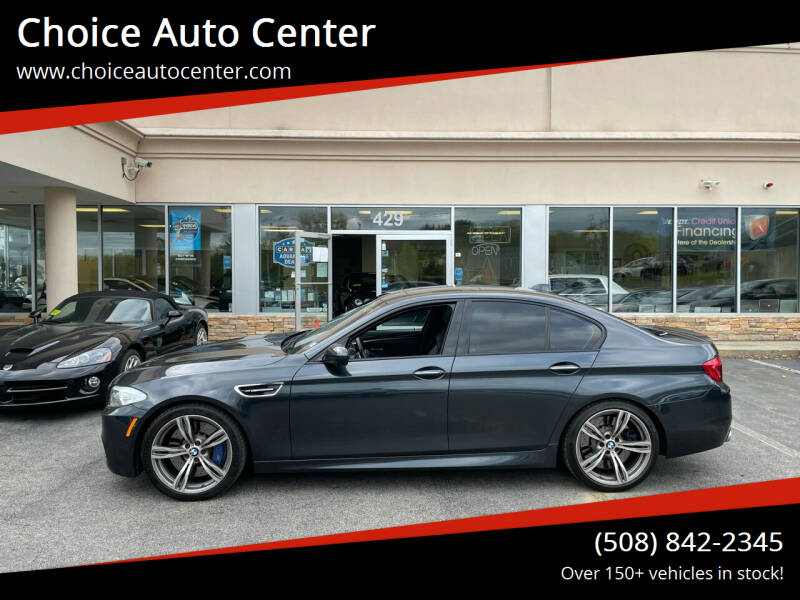 2013 BMW M5 for sale at Choice Auto Center in Shrewsbury MA