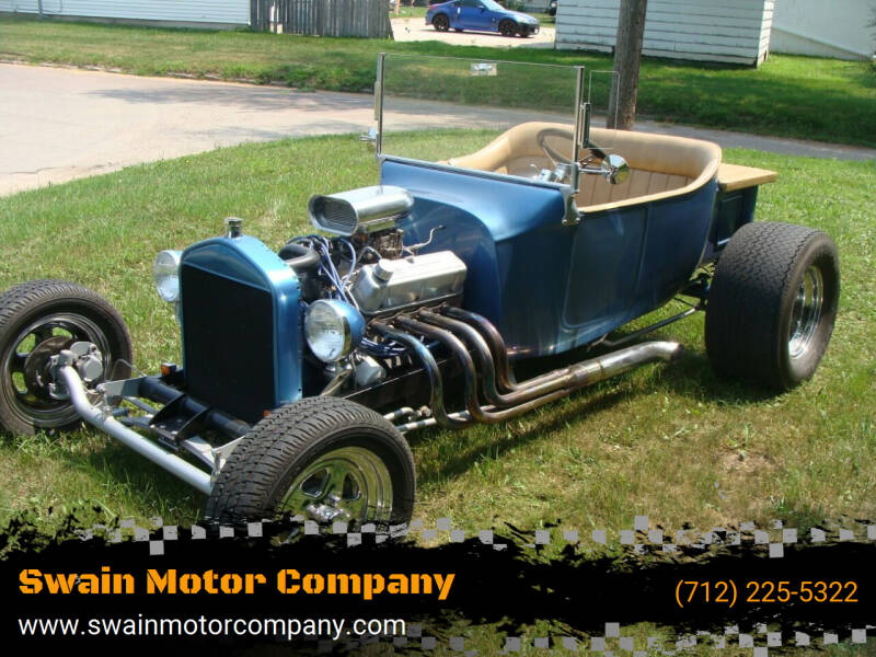 1923 Ford Model T for sale at Swain Motor Company in Cherokee IA