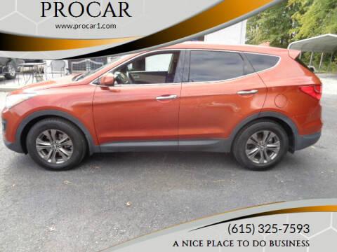 2013 Hyundai Santa Fe Sport for sale at PROCAR in Portland TN