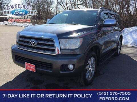 2014 Toyota Sequoia for sale at Fort Dodge Ford Lincoln Toyota in Fort Dodge IA