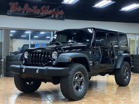 2015 Jeep Wrangler Unlimited for sale at The Auto Shoppe in Springfield MO