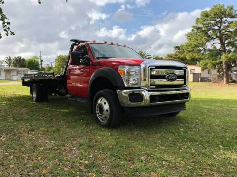 2016 Ford F-550 Super Duty for sale at Transcontinental Car USA Corp in Fort Lauderdale FL