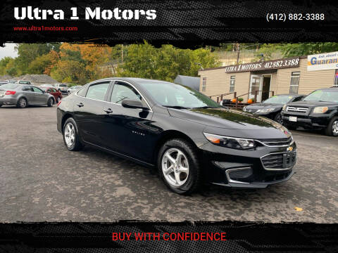 2016 Chevrolet Malibu for sale at Ultra 1 Motors in Pittsburgh PA