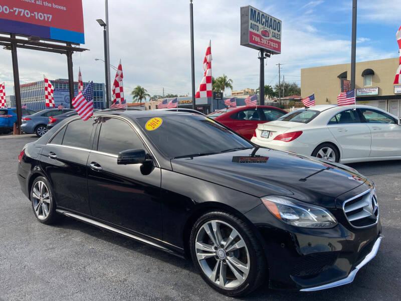 2014 Mercedes-Benz E-Class for sale at MACHADO AUTO SALES in Miami FL
