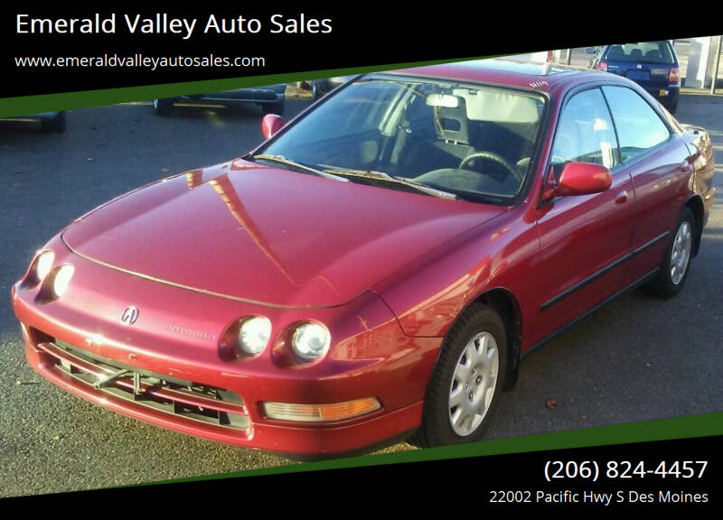 1995 Acura Integra for sale at Emerald Valley Auto Sales in Des Moines WA
