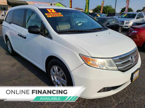 2012 Honda Odyssey for sale at Super Cars Sales Inc #1 - Super Auto Sales Inc #2 in Modesto CA