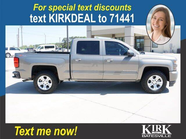 2017 Chevrolet Silverado 1500 for sale at Kirk Brothers Batesville in Batesville MS