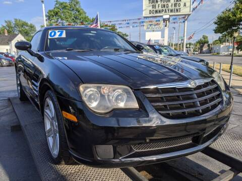 2007 Chrysler Crossfire for sale at GREAT DEALS ON WHEELS in Michigan City IN