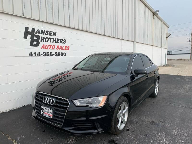 2015 Audi A3 for sale at HANSEN BROTHERS AUTO SALES in Milwaukee WI