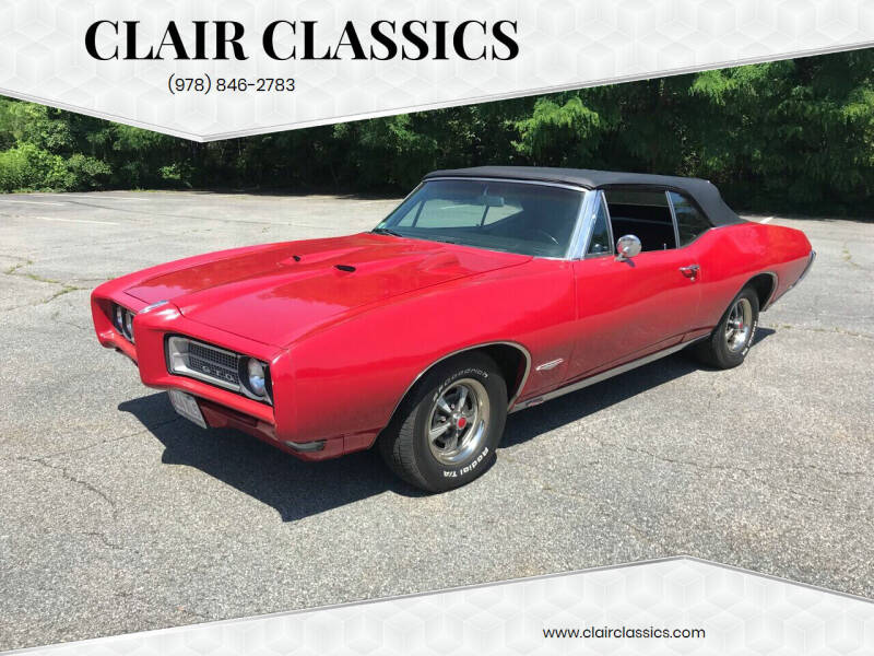1968 Pontiac GTO for sale at Clair Classics in Westford MA