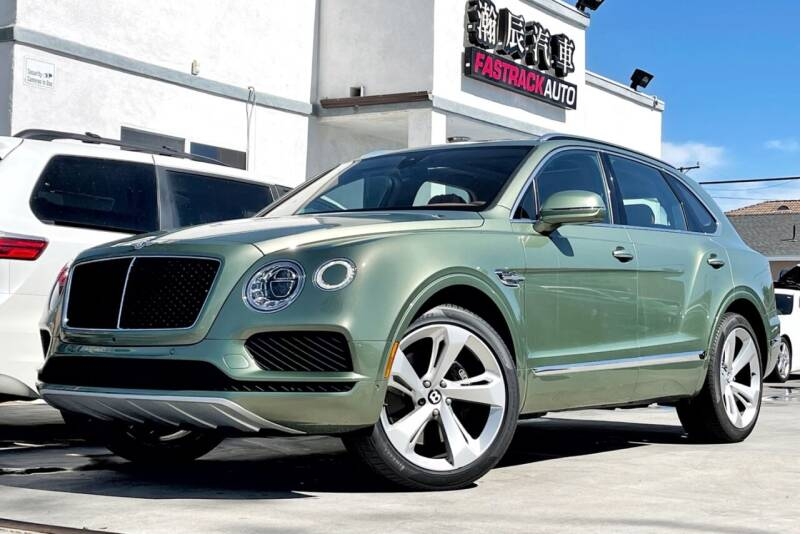 2019 Bentley Bentayga for sale at Fastrack Auto Inc in Rosemead CA
