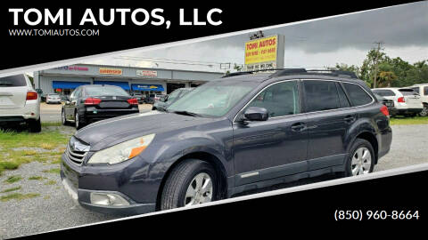 2012 Subaru Outback for sale at TOMI AUTOS, LLC in Panama City FL