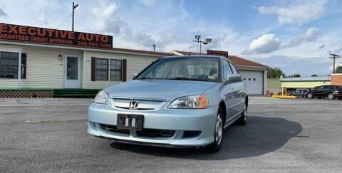 2003 Honda Civic for sale at Executive Auto in Winchester VA