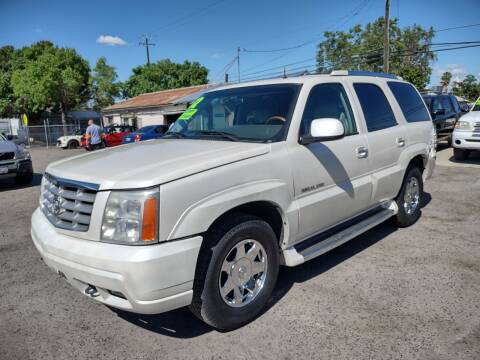 2002 Cadillac Escalade for sale at Larry's Auto Sales Inc. in Fresno CA