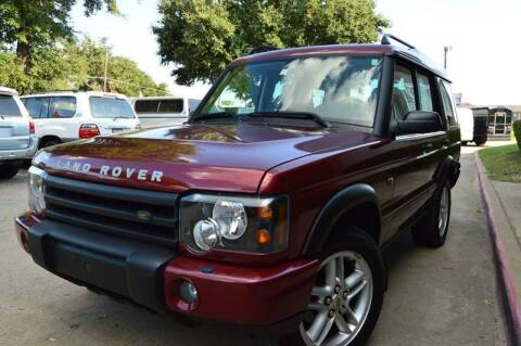 2003 Land Rover Discovery for sale at E-Auto Groups in Dallas TX