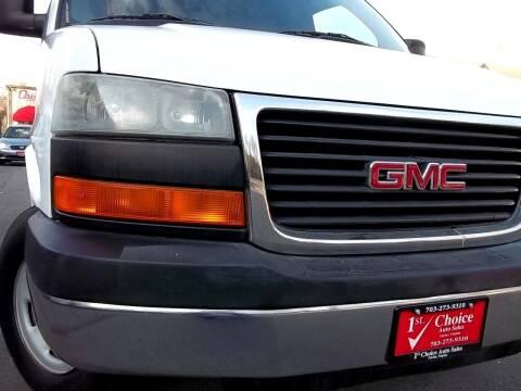 2006 GMC Savana Passenger for sale at 1st Choice Auto Sales in Fairfax VA