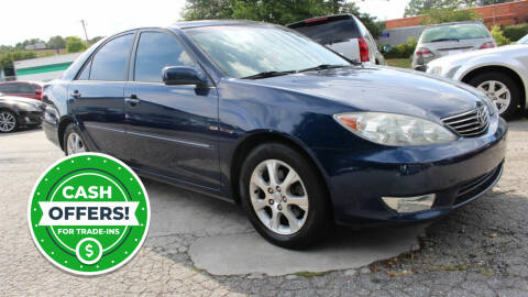 2005 Toyota Camry for sale at NORCROSS MOTORSPORTS in Norcross GA