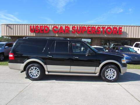 2009 Ford Expedition EL for sale at Checkered Flag Auto Sales NORTH in Lakeland FL