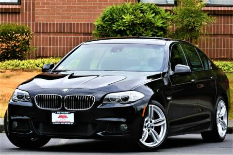 2011 BMW 5 Series for sale at SEATTLE FINEST MOTORS in Lynnwood WA