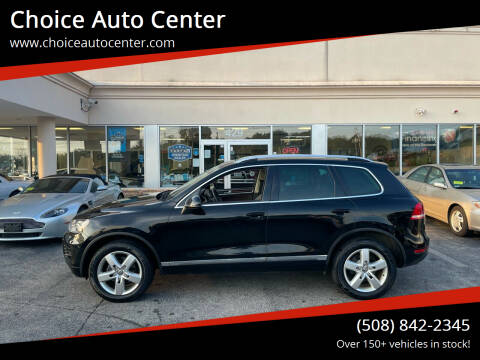 2012 Volkswagen Touareg for sale at Choice Auto Center in Shrewsbury MA