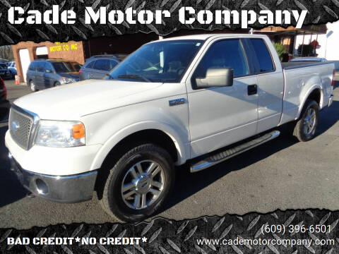 2007 Ford F-150 for sale at Cade Motor Company in Lawrenceville NJ