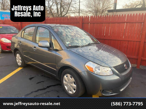 2008 Suzuki SX4 for sale at Jeffreys Auto Resale, Inc in Clinton Township MI