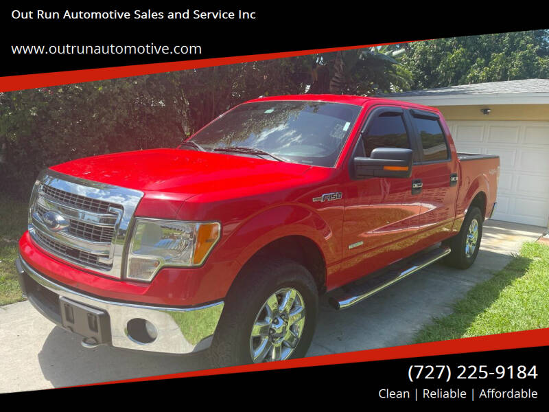2013 Ford F-150 for sale at Out Run Automotive Sales and Service Inc in Tampa FL