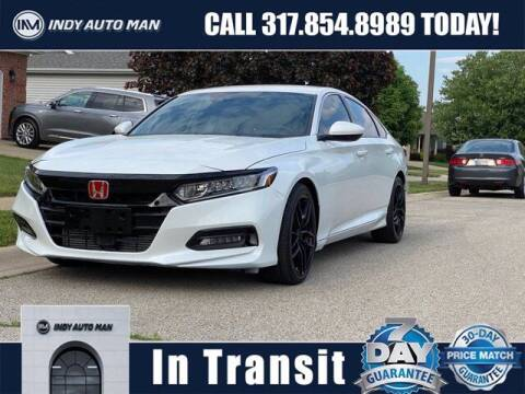 2018 Honda Accord for sale at INDY AUTO MAN in Indianapolis IN