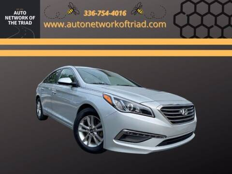 2015 Hyundai Sonata for sale at Auto Network of the Triad in Walkertown NC