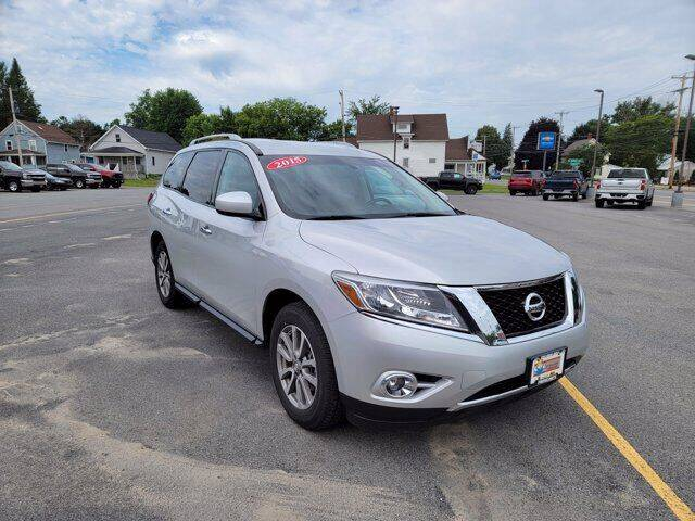 2015 Nissan Pathfinder for sale at Frenchie's Chevrolet and Selects in Massena NY